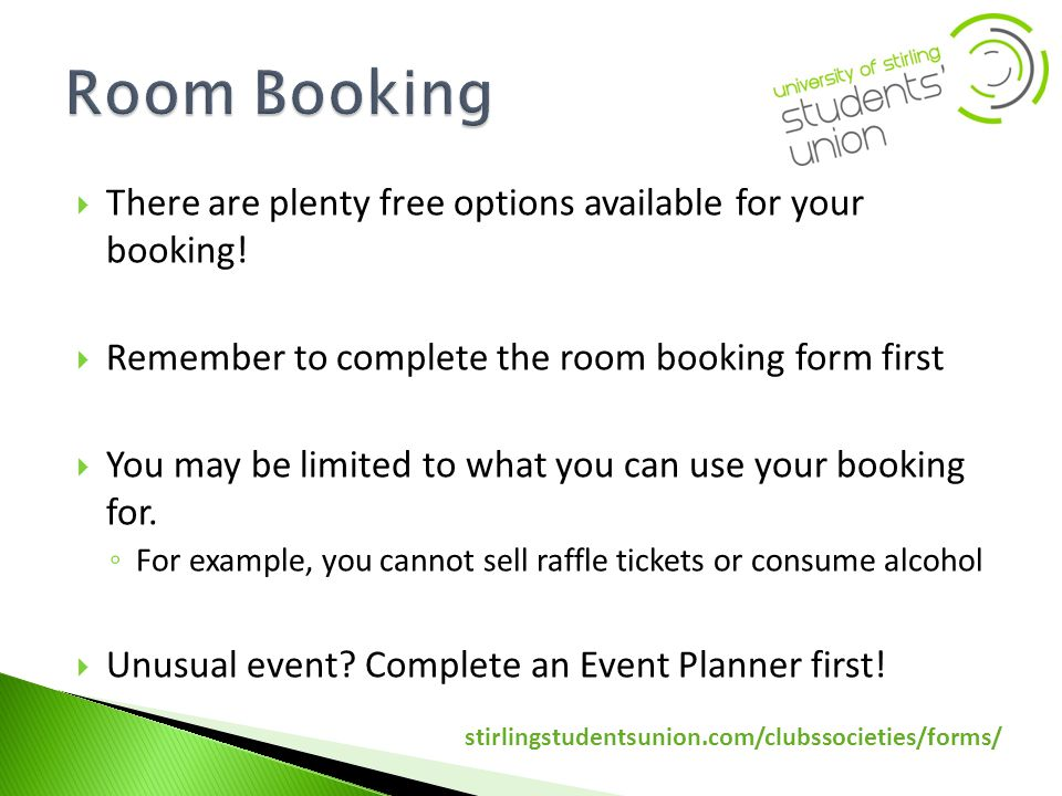 There are plenty free options available for your booking.