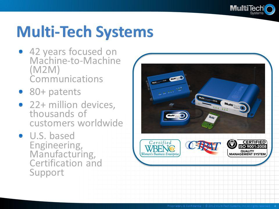 Device or Embedded PSTN Device Servers 2G GSM/GPRS & CDMA 3G HSPA & EV-DO 4GLTE[FUTURE] MultiModem® ZDX MultiConnect OCG-D MultiModem® ZBA MultiModem® rCell MultiModem® IND MultiModem® iCell MultiModem® ZPX* MultiModem® Cell MultiMobile® USB MultiModem® ISI* SocketModem® IP SocketWireless® Wi-Fi® SocketModem® iCell RJModem SocketWireless® Bluetooth® SocketModem® Cell QuickCarrier USB Interface KeyEthernet, Serial & USB Ethernet & Serial Serial -&- USB Serial -OR- USB SerialUSB *Internal PC Modems 15Proprietary & Confidential | © 2012 Multi-Tech Systems, Inc.
