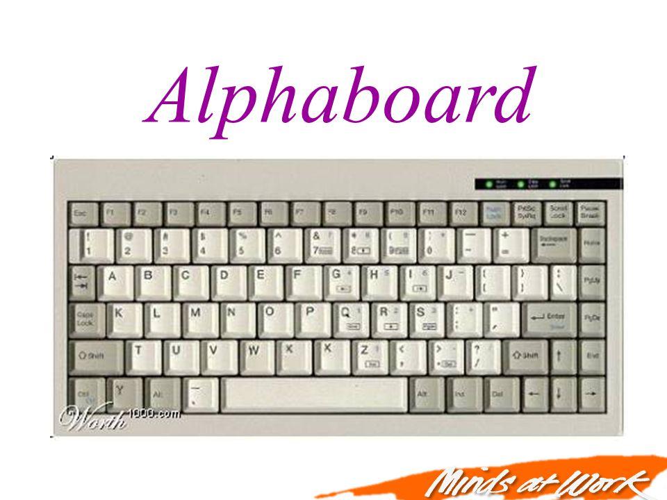 Alphaboard