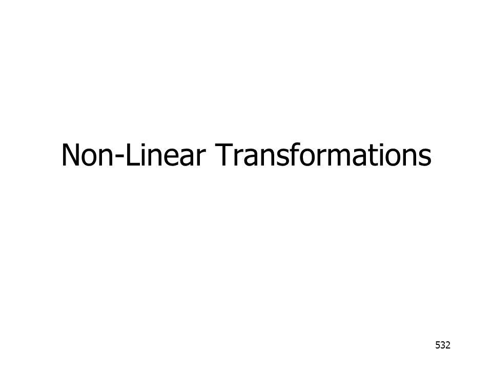 532 Non-Linear Transformations