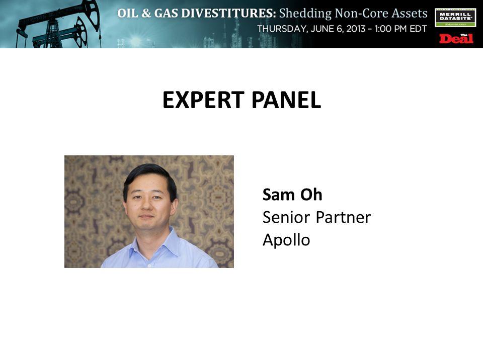 EXPERT PANEL Sam Oh Senior Partner Apollo