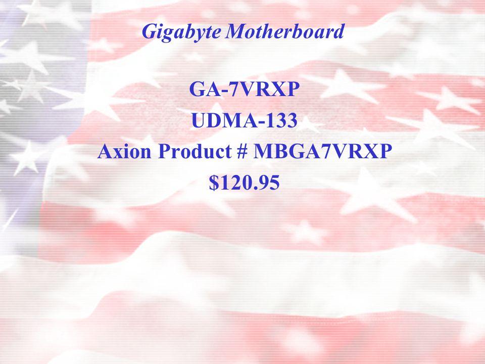 PC Components Enlight Case 7237 $51.95 Acer 56X CD-ROM $30.95 Lite-On BURN Proof CD-RW $103.95 Athlon 1800XP Retail Box w/Fan & Heatsink $131.95 Samsung Floppy Drive $11.95 Lucent Chip 56K Modem $13.95 Maxtor 60 GB 7200 RPM UDMA 133 $110.95 Samsung 512 MB RAM DDR ( 2 - 256 Sticks) $151.90 Gigabyte MB GA-7VRXP $120.95 19 AOC Monitor Flat Screen $235.95 Logitech Cordless Keyboard & Optical Mouse $82.95 Windows XP Professional OEM $152.95 ATI Radeon 7500 64 Meg TV Out $90.95 Total $1291.30