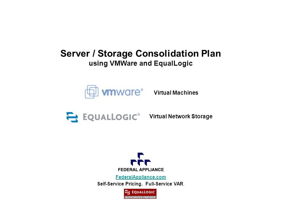 LOW PROBLEM SOLUTION NORMAL FULL EqualLogic Storage Device MailSQLWebFile FREE SPACE Migration complete with no impact MailSQLWebFile Server Web Server SQL Server Mail Server No Disruptions .