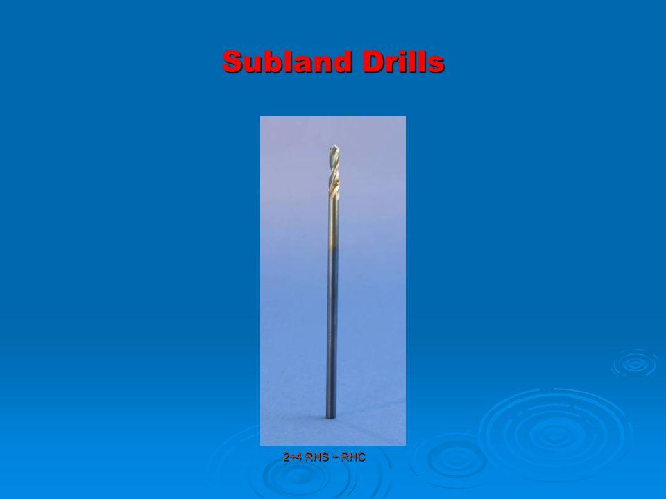 Subland Drills 2+4 RHS ~ RHC