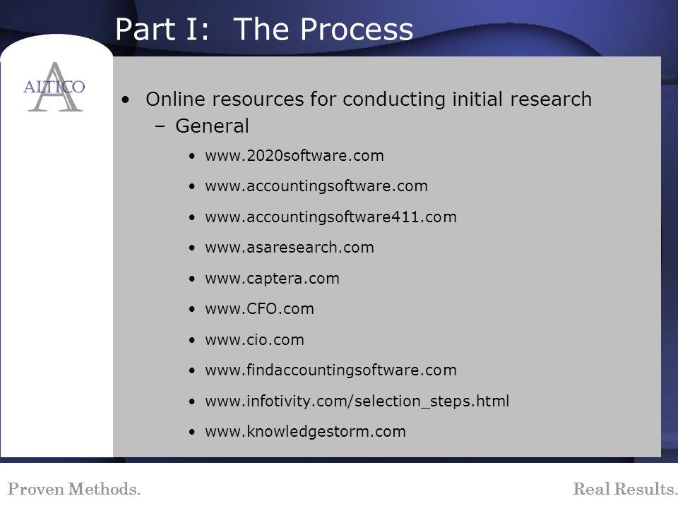 Proven Methods. Real Results. Sample Implementation Timeline: Graphical Representation