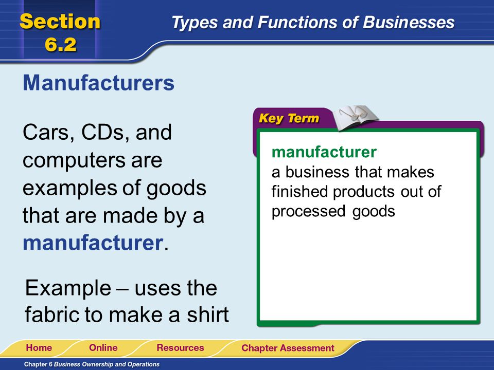 Intermediaries and Wholesalers intermediary a business that moves goods from one business to another An intermediary buys goods, stores them, and then resells them.