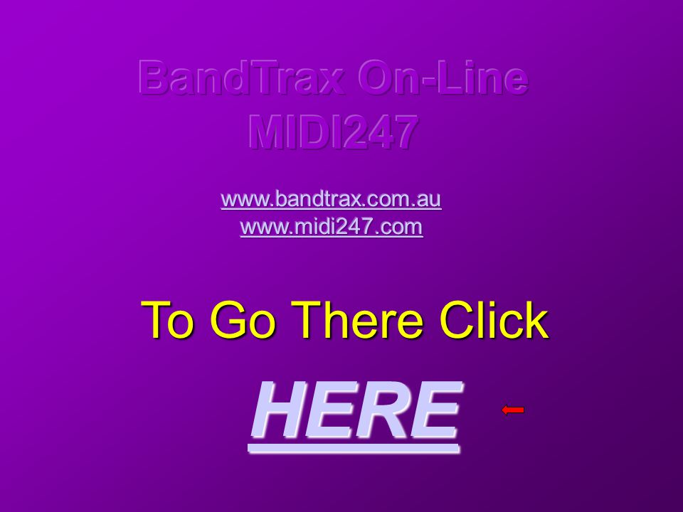 To Go There Click HERE