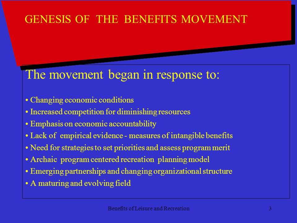 Benefits of Leisure and Recreation24 The Answer How To .