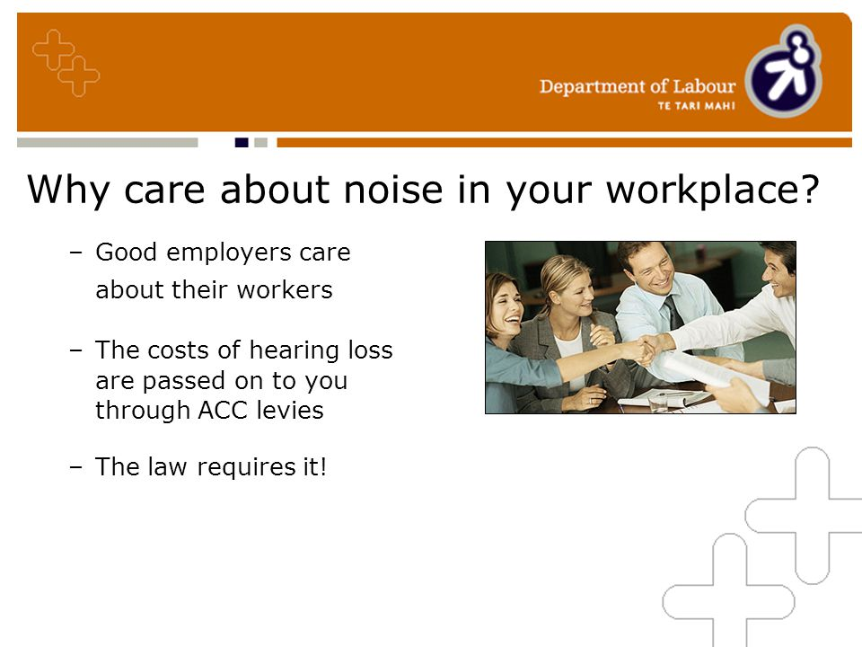 Why care about noise in your workplace.