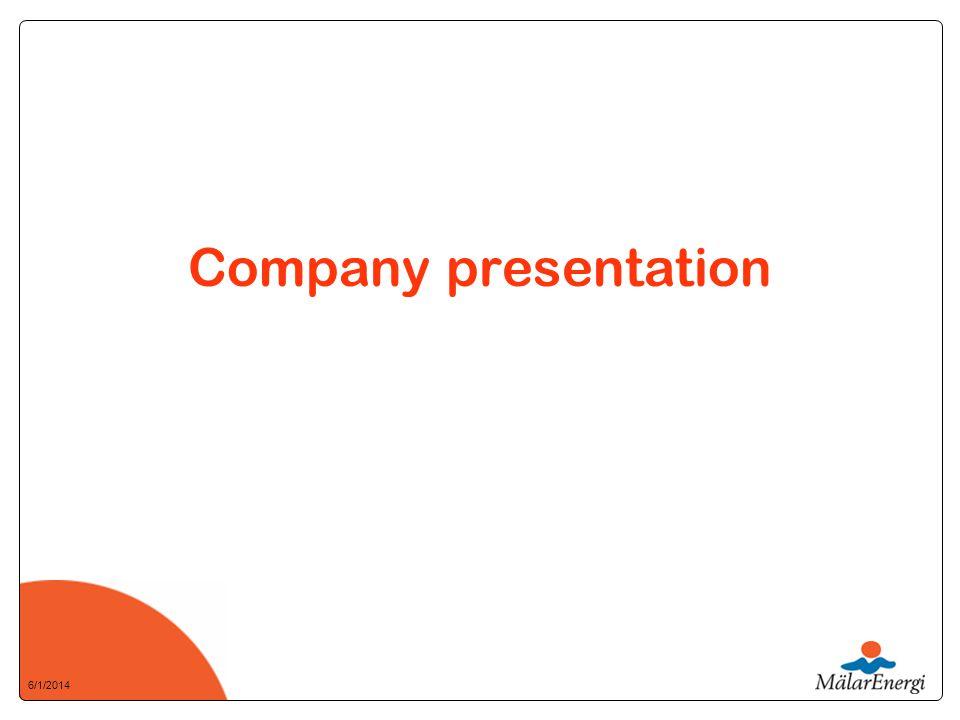 6/1/2014 Company presentation