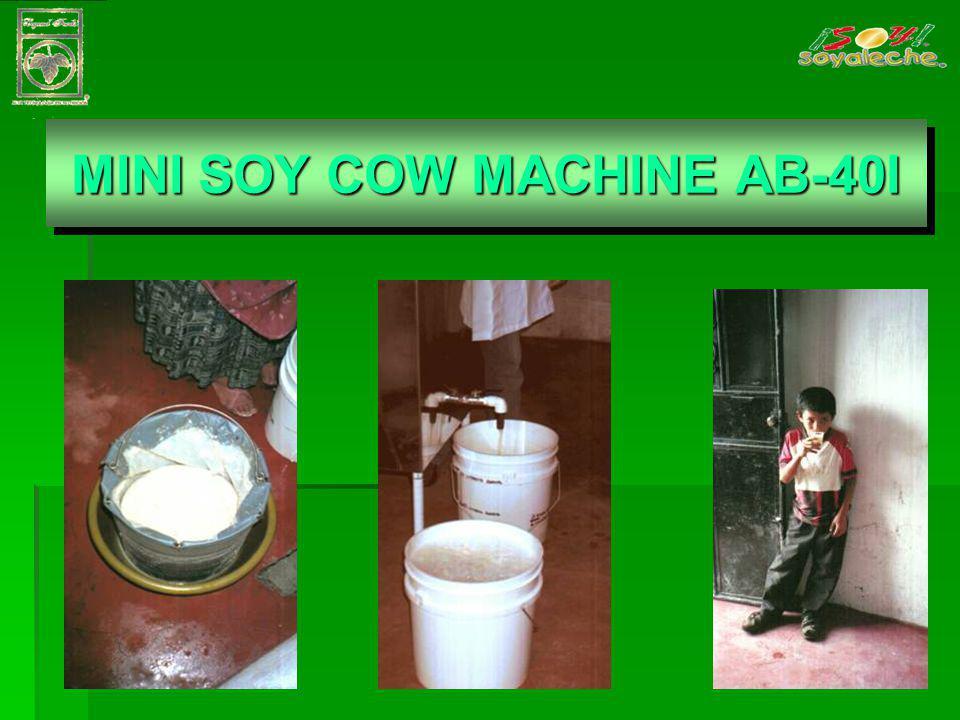 MINI SOY COW MACHINE AB- 40I