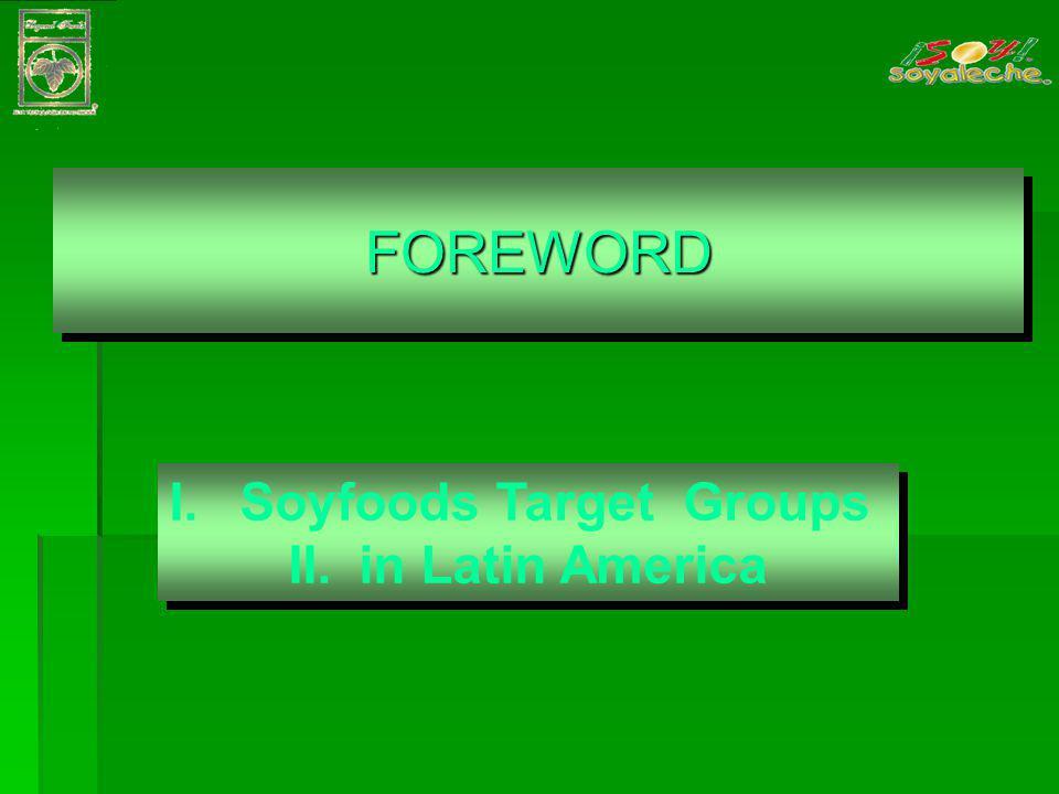 III. PROCESSING SOYFOODS IN LATIN AMERICA