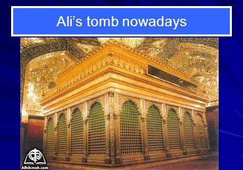Alis tomb nowadays