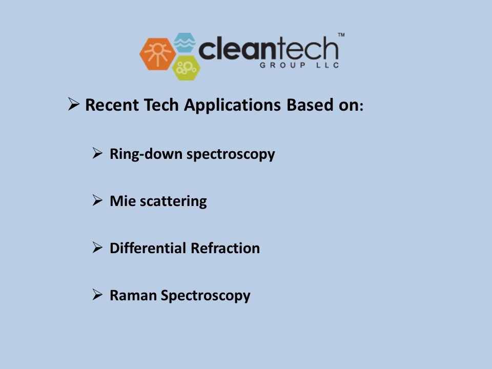 Cleantech new technology competitive returns for investors and customers providing solutions to global challenges & environmental change.