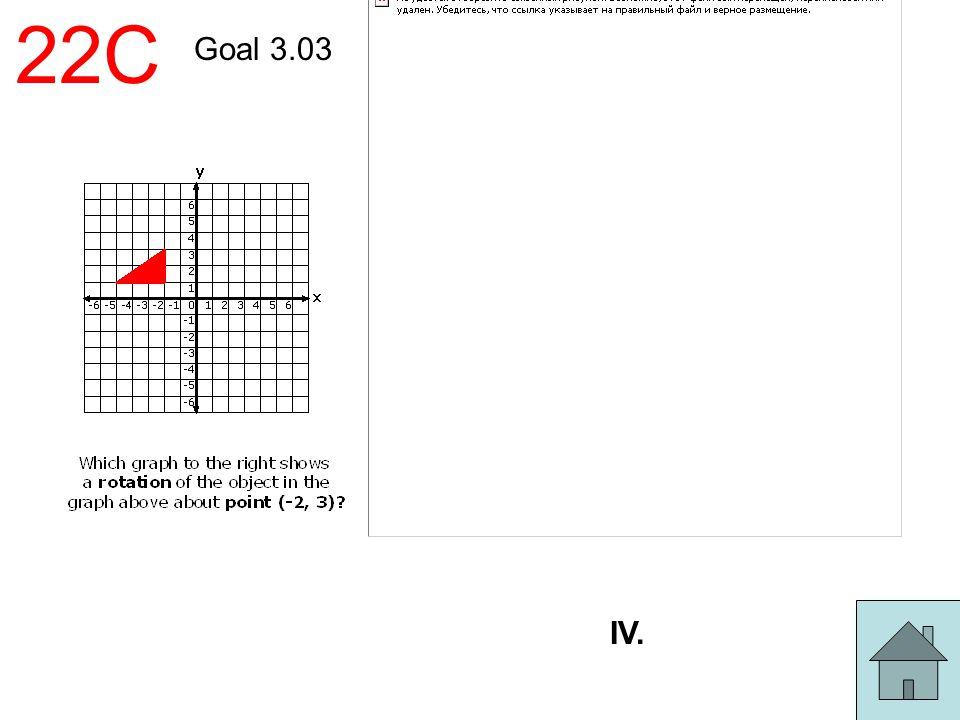 22C Goal 3.03 IV.
