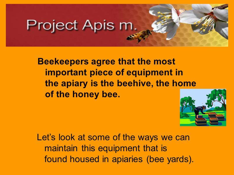 Module 2: Best Management Practices for Hive Maintenance/Equipment