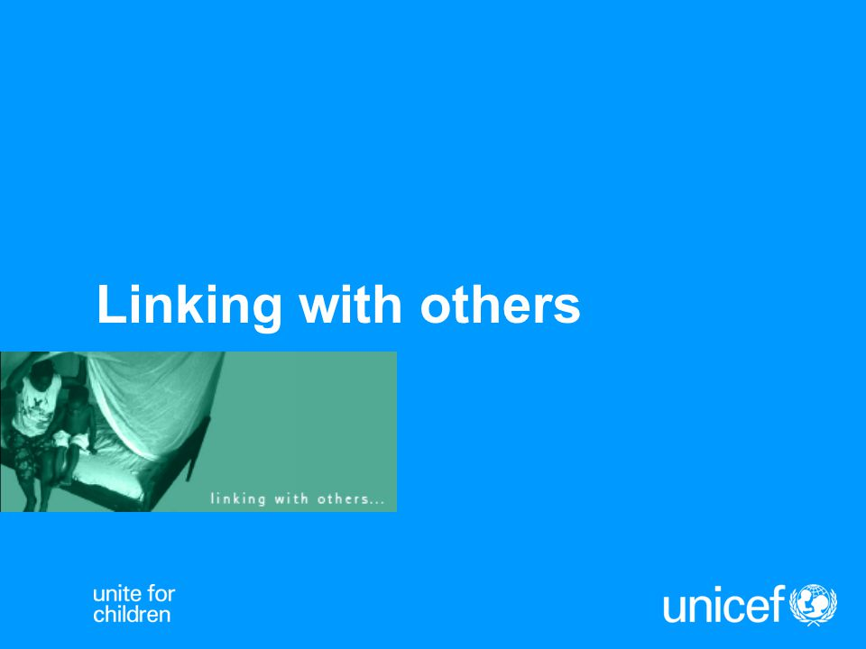 Linking with others