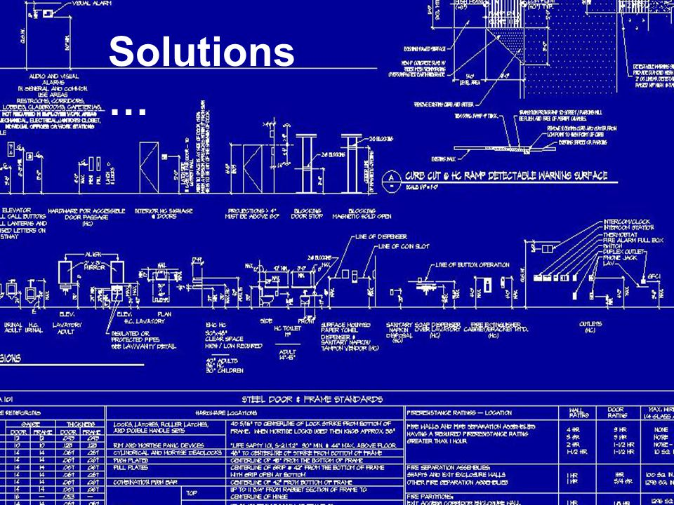 Solutions …
