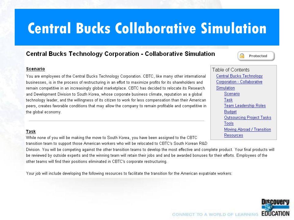 Central Bucks Collaborative Simulation