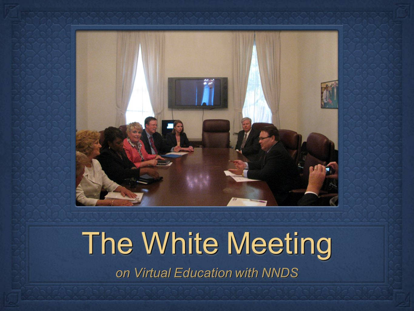 The White Meeting on Virtual Education with NNDS