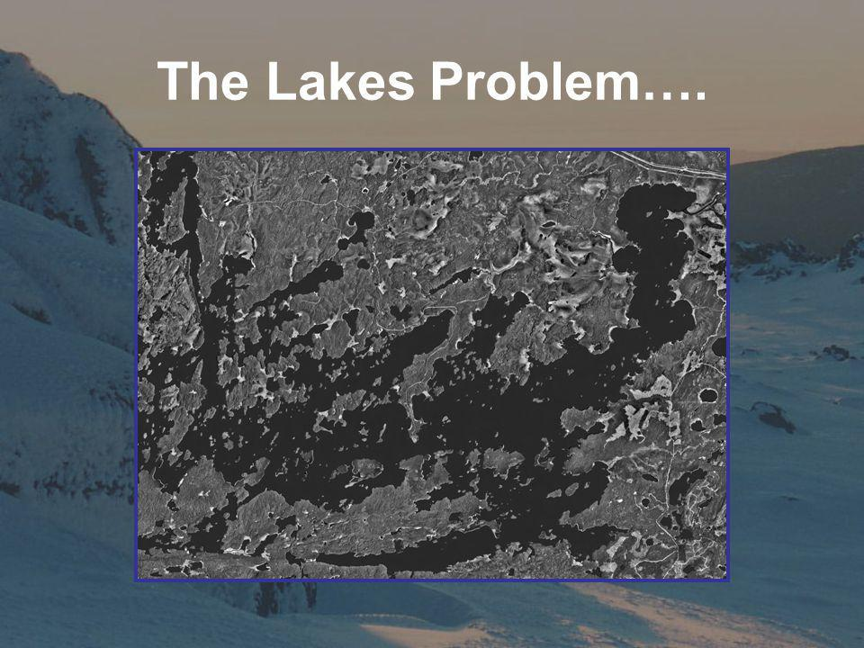 The Lakes Problem….