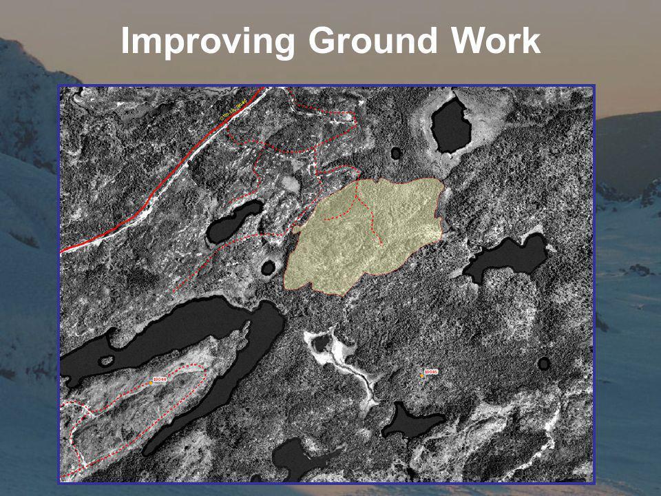 Improving Ground Work