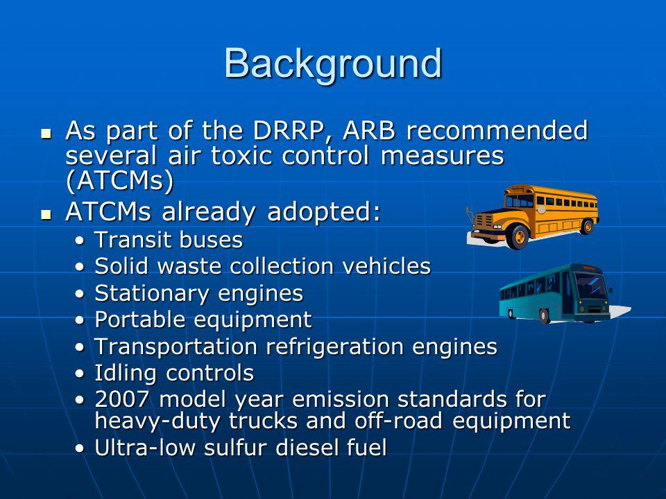 On-Road Diesel Public Fleet ATCM