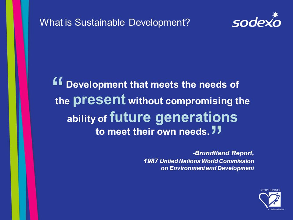 What is Sustainable Development.