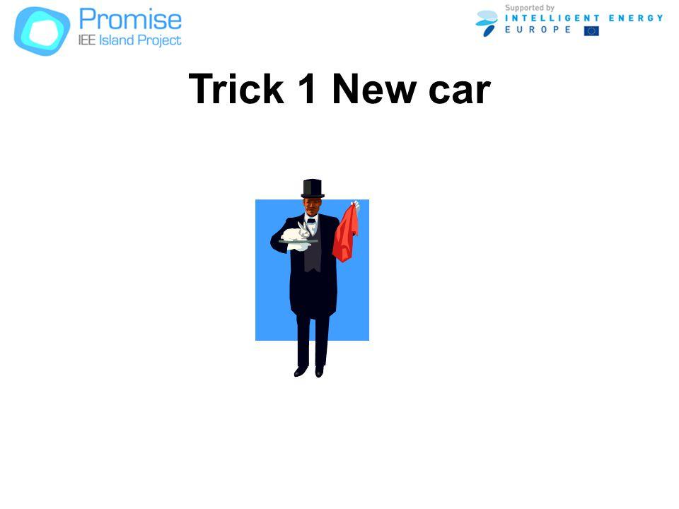 Trick 1 New car