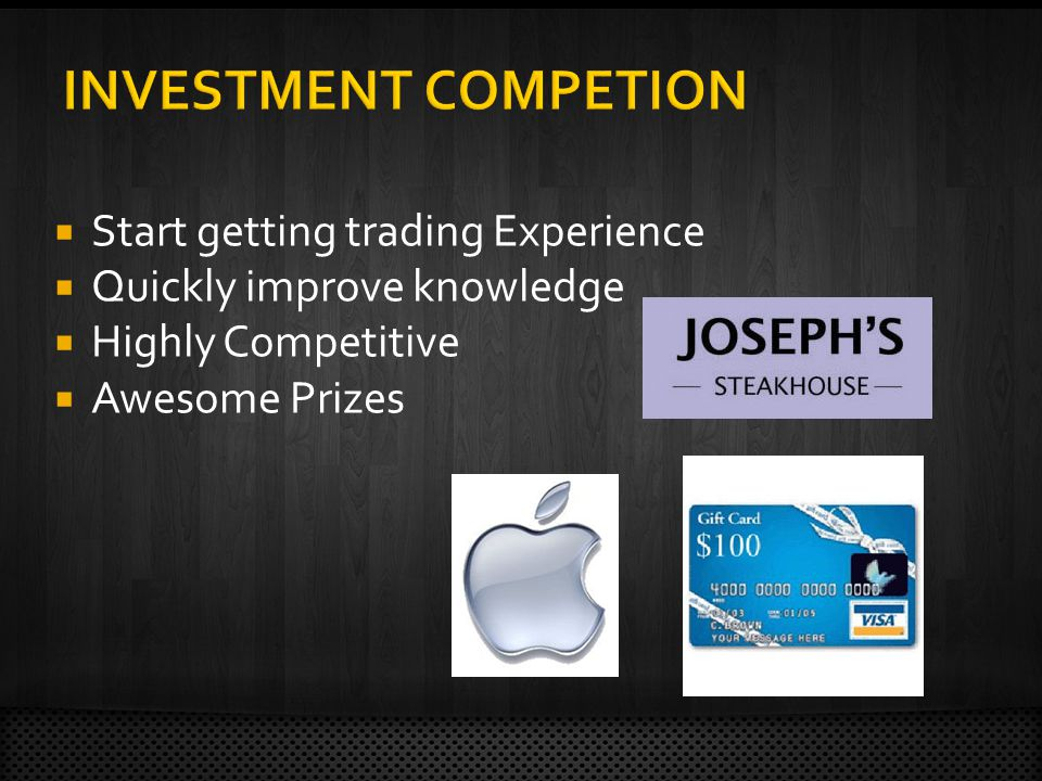 Start getting trading Experience Quickly improve knowledge Highly Competitive Awesome Prizes
