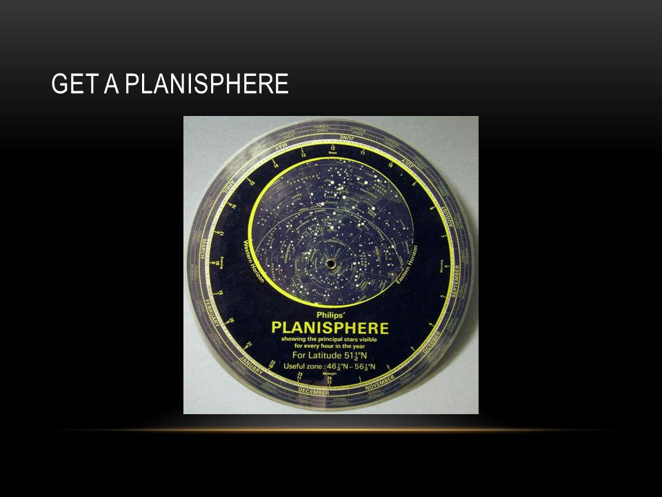 GET A PLANISPHERE