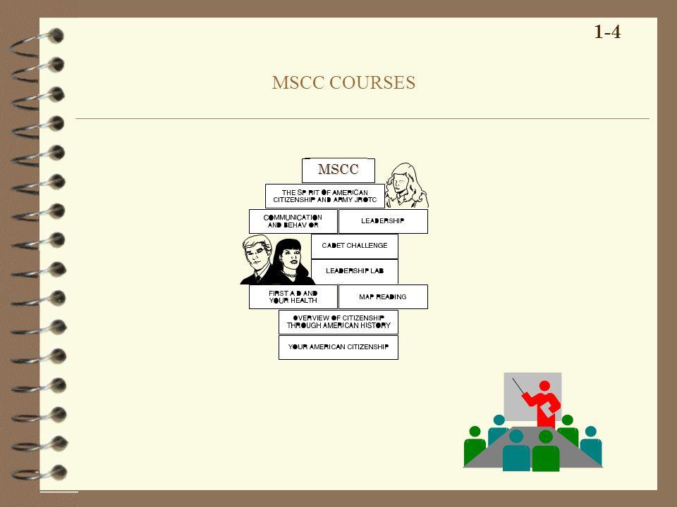 MSCC COURSES 1-4 MSCC