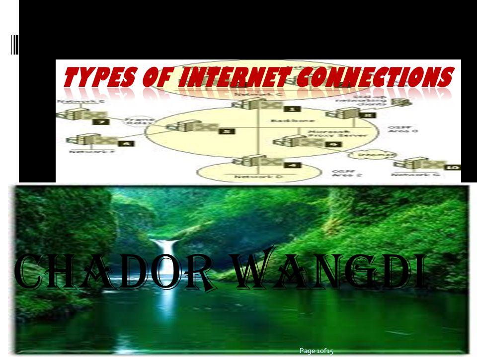 Chador Wangdi Page 1of15