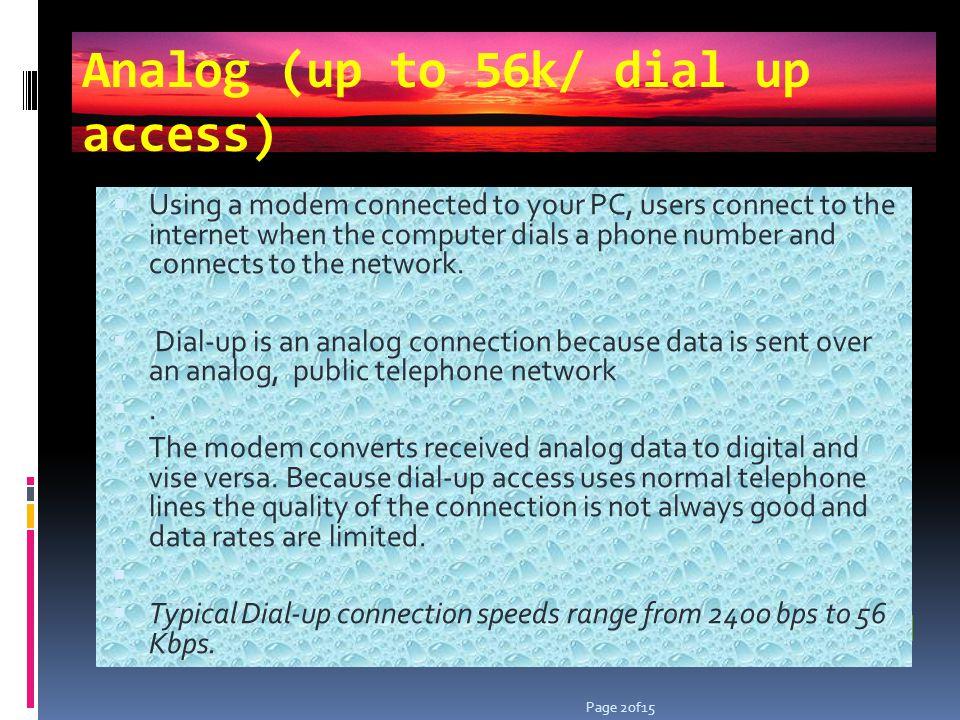 ISDN ISDN is an international communications standard.