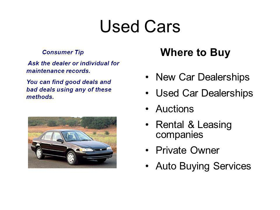 New Cars Before stepping foot in a dealership know the following: MSRP vs.