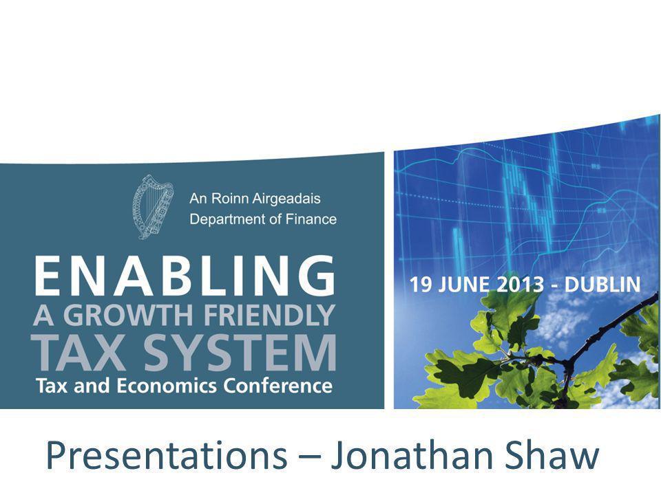 Presentations – Jonathan Shaw