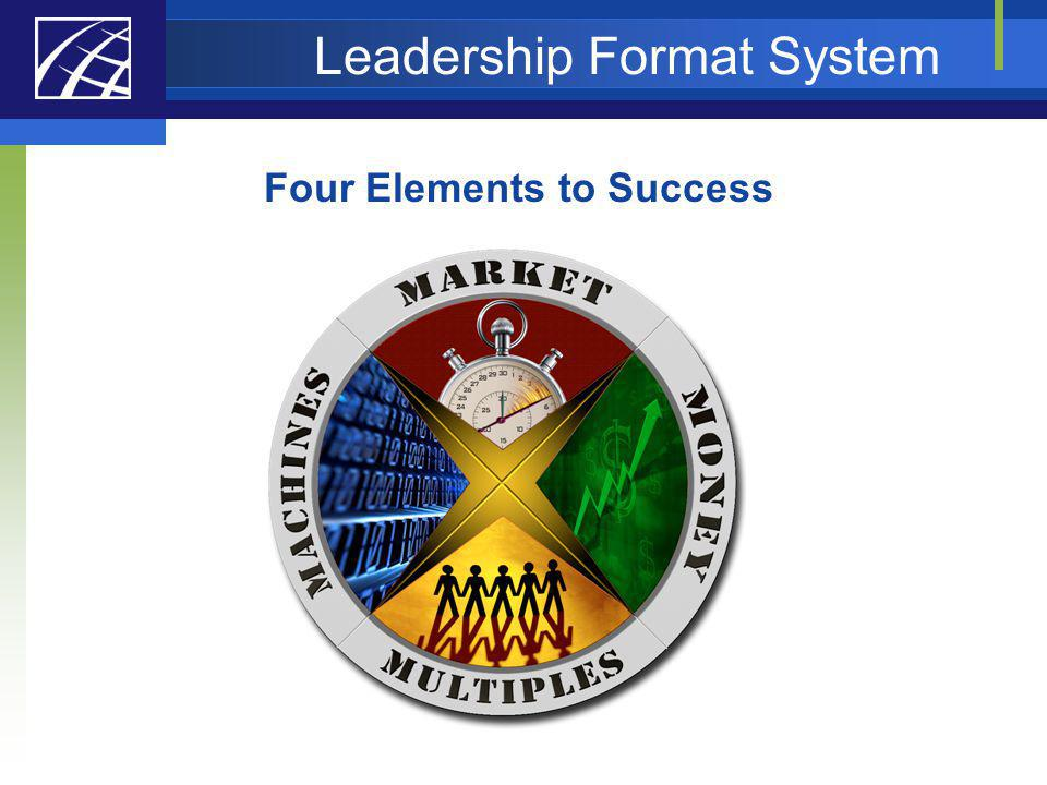 Leadership Format System Four Elements to Success