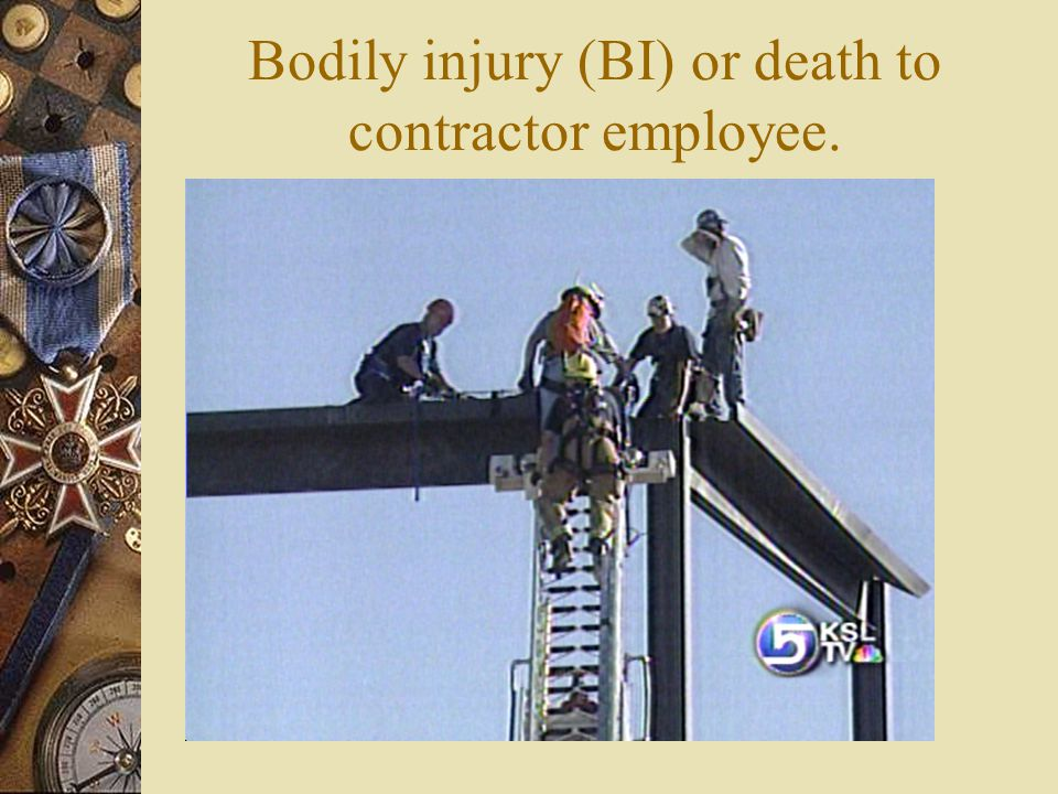 Insurance Assure contractors financial responsibility.