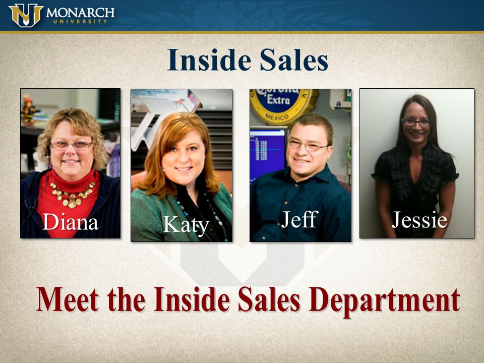 Inside Sales Call on our bottom 3% of customers - about 500 accounts per In. Sales Rep. Accepting customers calls Getting graphics and POS to accounts