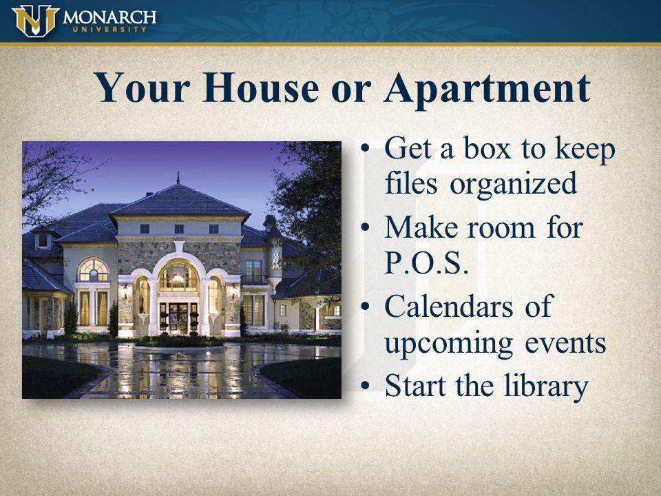 Organization Home, Vehicle, Sales Bag