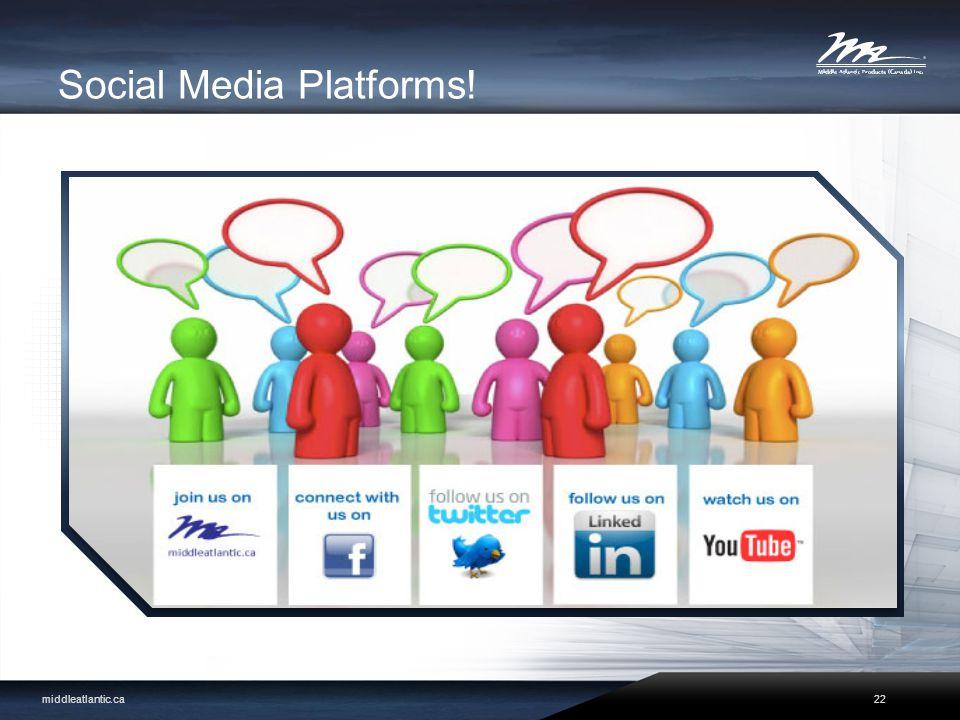 Social Media Platforms! middleatlantic.ca22