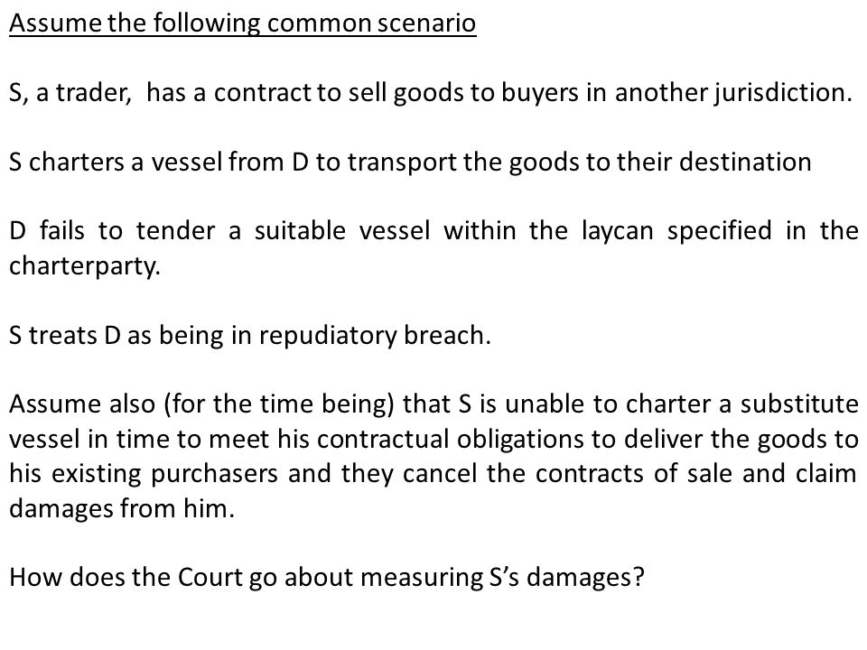 Assume the following common scenario S, a trader, has a contract to sell goods to buyers in another jurisdiction.