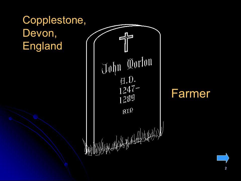 2 Copplestone, Devon, England Farmer