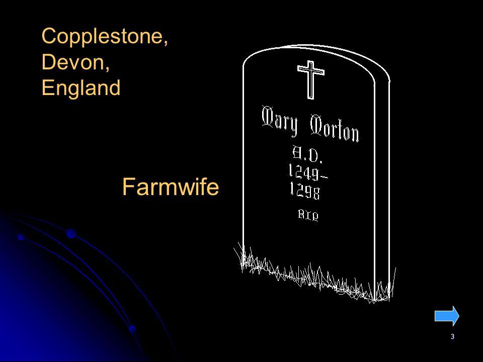 3 Copplestone, Devon, England Farmwife