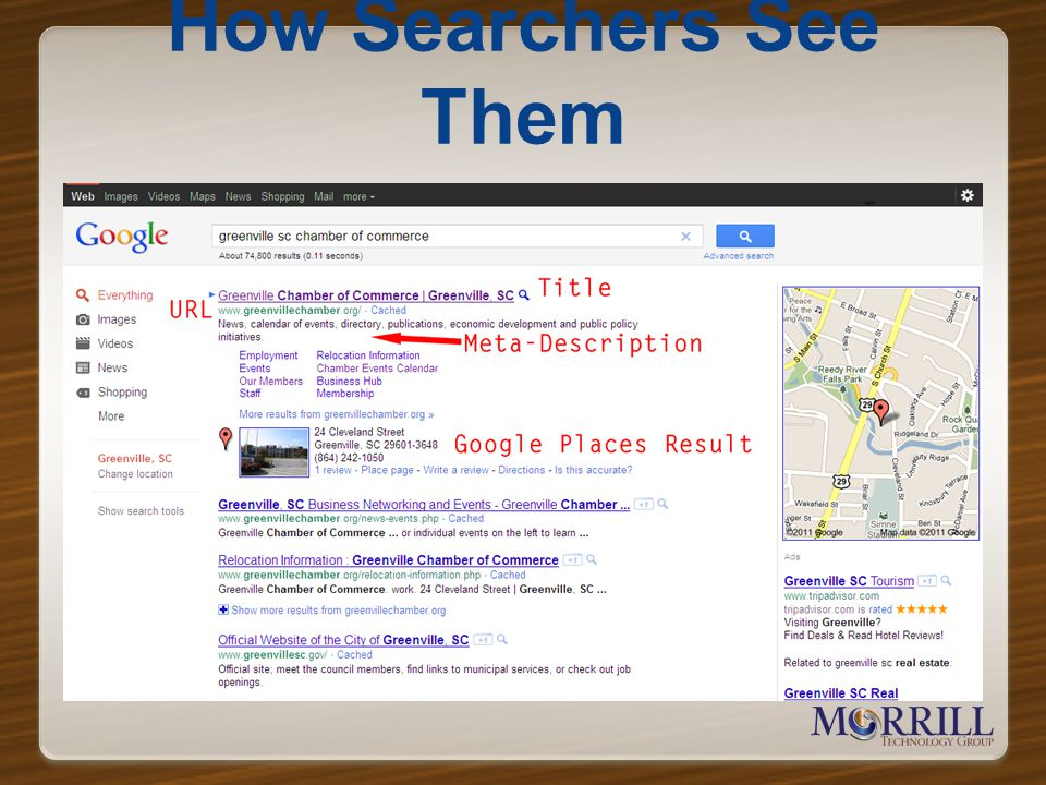 How Searchers See Them