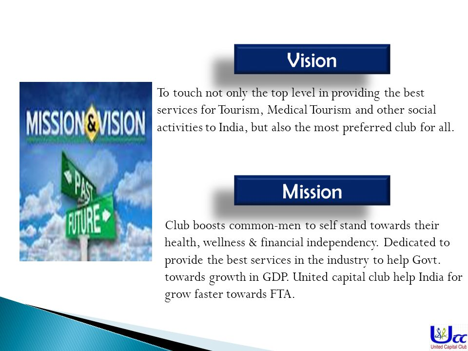 Vision Mission Club boosts common-men to self stand towards their health, wellness & financial independency.