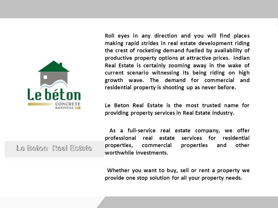 Reach us : 022-66096029   022-27662451 Website : www.lebetondirect.com Email:info@lebetondirect.com, sales@lebetondirect.com