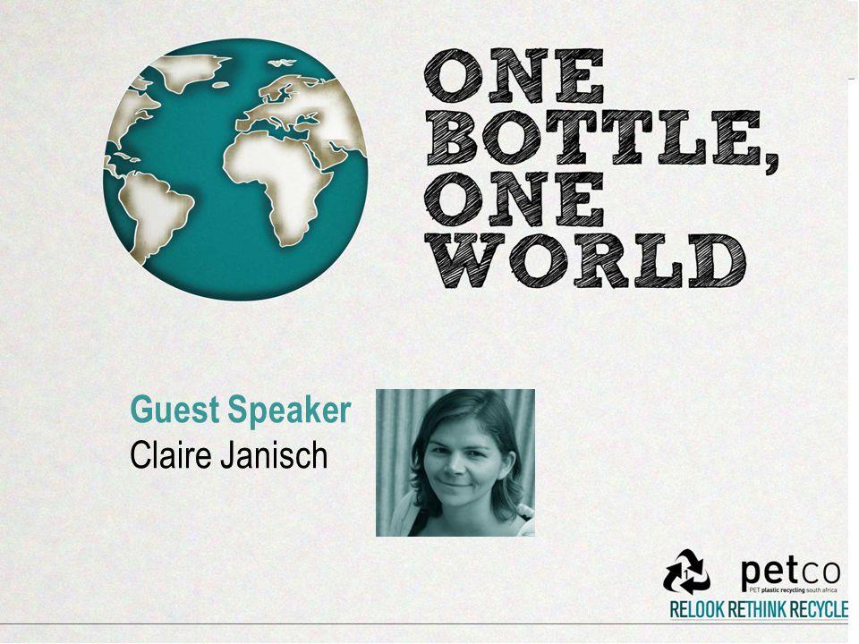 Guest Speaker Claire Janisch