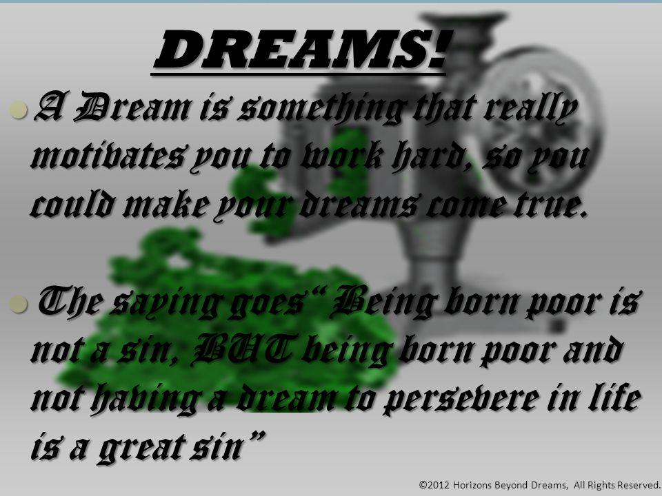 Horizons Beyond Dreams PTY LTD BUILDING YOUR WEB.