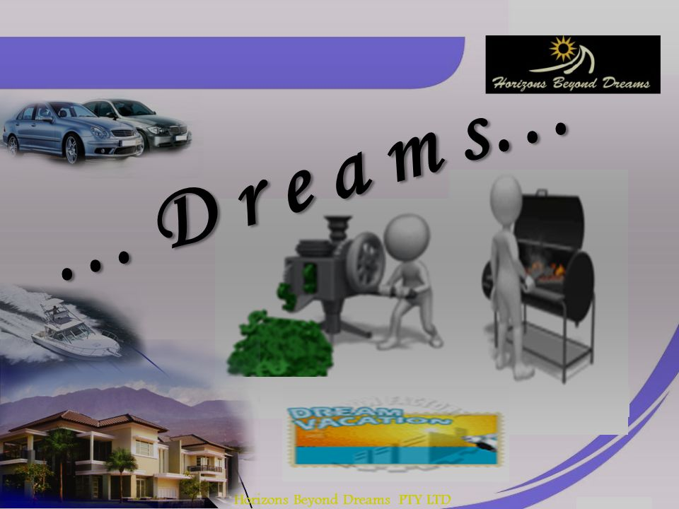 Horizons Beyond Dreams PTY LTD WE WERE TAUGHT WRONG PARADIGMS ABOUT FINANCIAL FREEDOM.